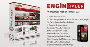 WordPress Haber Teması İndir